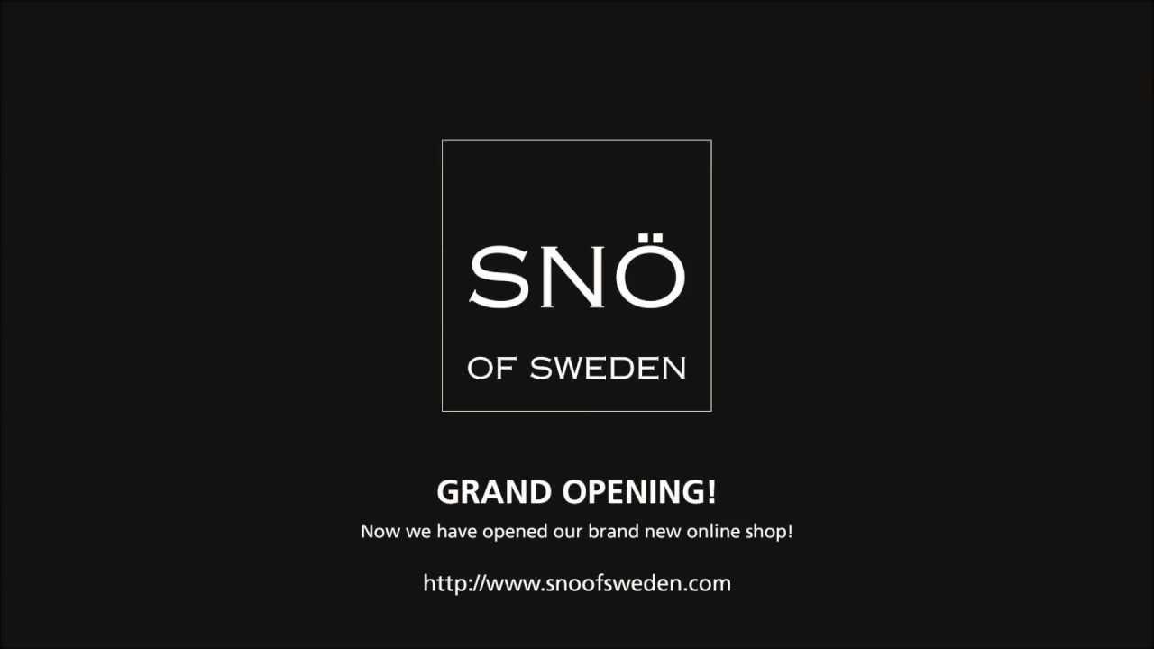 snö of sweden webshop