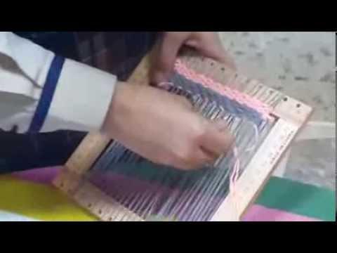 طريقة عمل النسيج اشراف الملعمة نوف البطاح Youtube