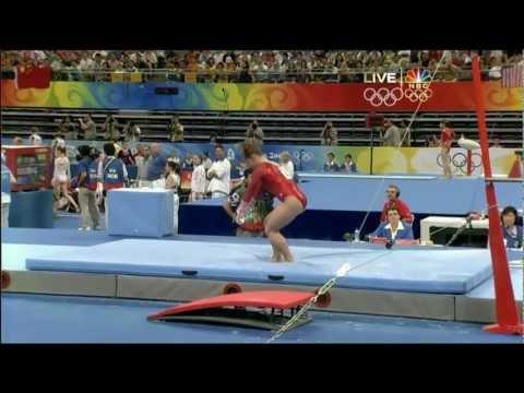 Shawn Johnson - Uneven Bars - 2008 Olympics All Around