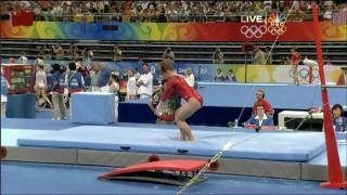 Shawn Johnson - Uneven Bars - 2008 Olympics All Around