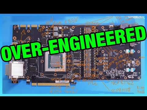 EVGA Goes Insane with 1080 Ti FTW3 PCB (VRM Analysis)