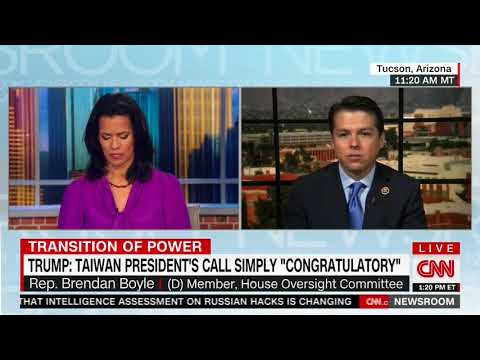 Congressman Boyle Criticizes Then President-Elect Trump's International Relations Conduct