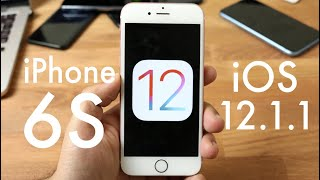 iOS 12.1.1 OFFICIAL On iPHONE 6S! (Review)