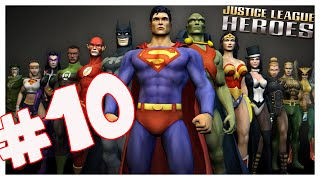 Justice League Heroes (PS2) Part 10 Huntress and Hawkgirl! co-op