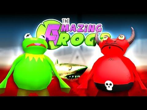 KERMIT, SATAN & THE ZOMBIE MEGALODON - *NEW* Amazing Frog Halloween Update