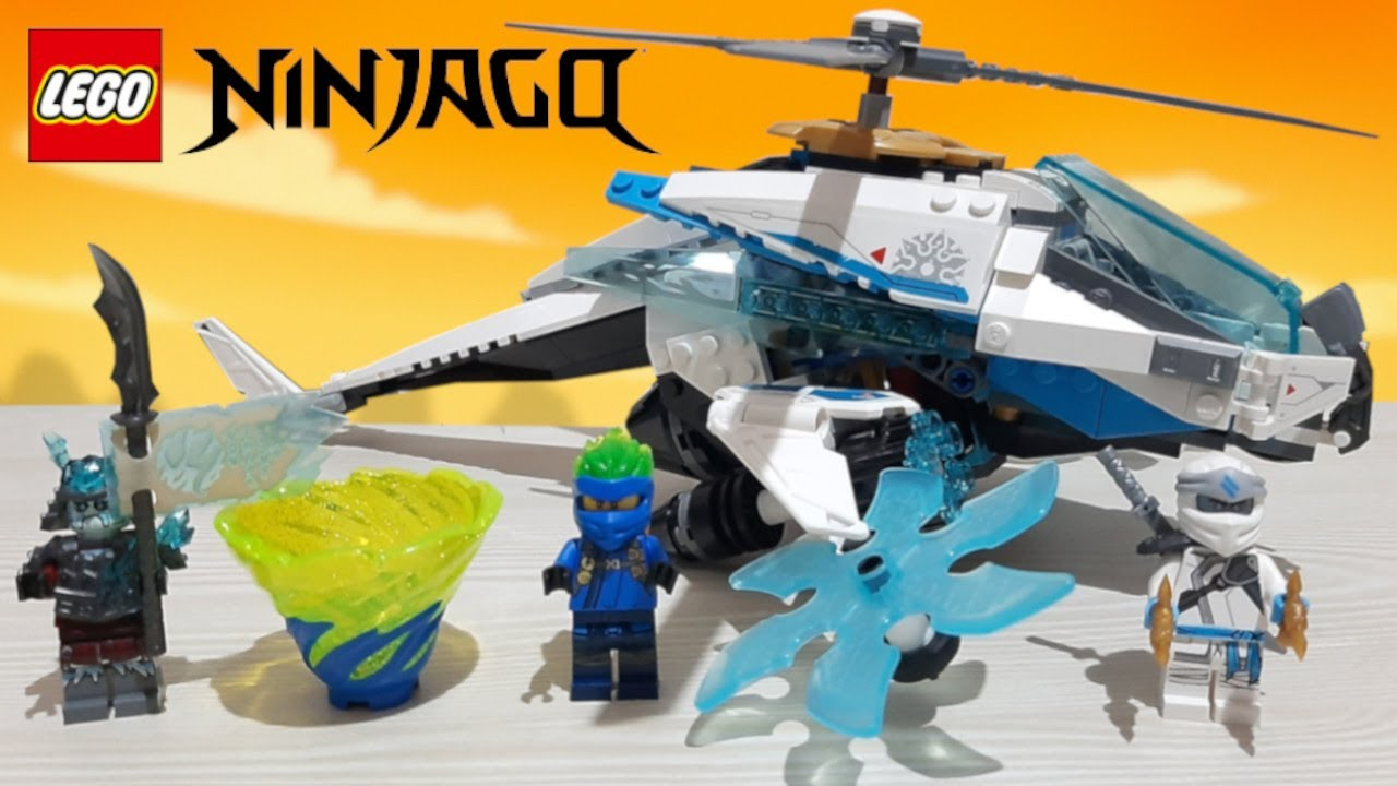 Jay FS minifigure New Lego 70673 Ninjago ShuriCopter