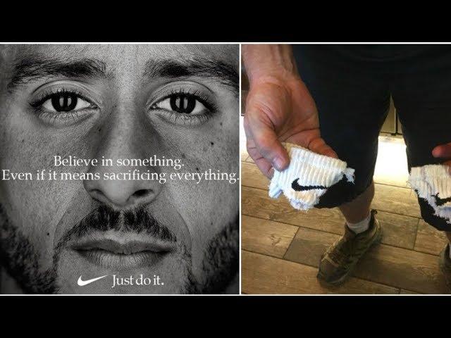 1b328be81b2 Nike shares hit as Kaepernick ad spurs boycott