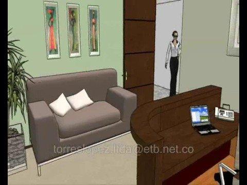 Propuesta construccion oficina de abogados autonorte calle for Como decorar mi despacho