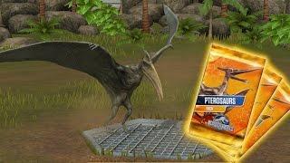 PTERODACTYLUS UNLOCKED ?! PTEROSAUR DRAFT BATTLE ?! |Jurassic World The Game|Ep 117