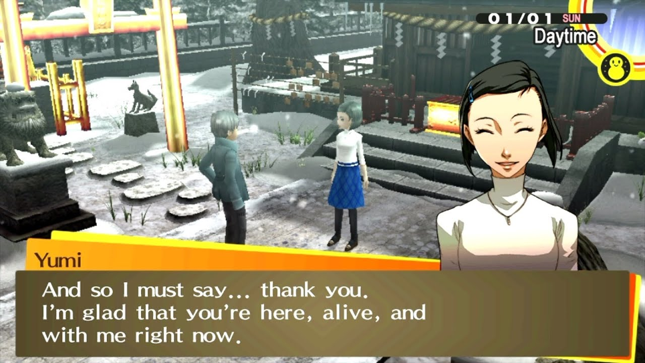 persona 4 golden dating guide