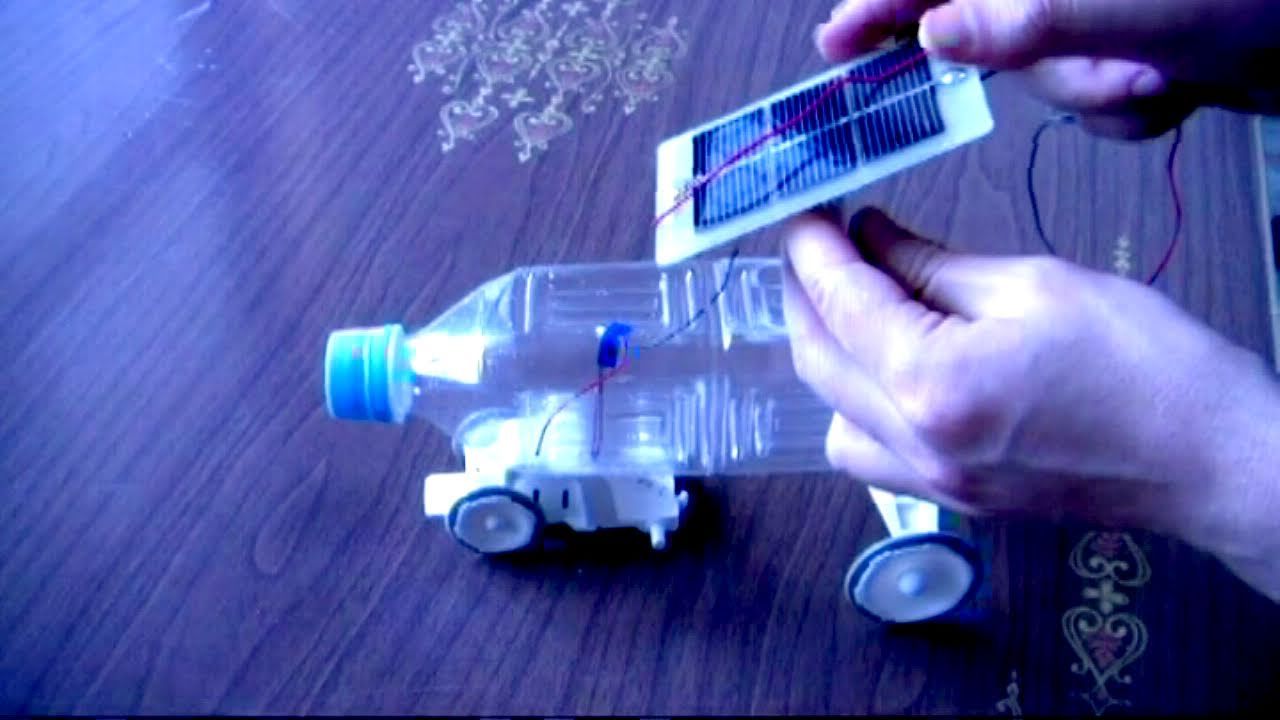 A Solar Powered Toy Car Handmade Youtube