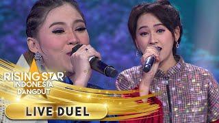 Nella Kharisma Feat Happy Asmara [NINGGAL TATU]   Live Duel   Rising Star Indonesia