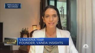 Crude oil prices are in a 'holding pattern' for now, says Vanda Insights