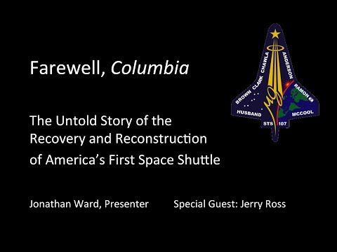 Farewell, Columbia - The recovery and reconstruction of spac