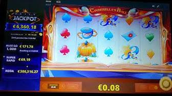 Online Casino Club Cinderella's Ball - Wieder was gewonnen - 4 Stunden Teil 2