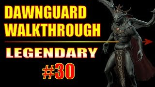 Skyrim Dawnguard Walkthrough - Part 30, So Much Bow Damage That I Broke the Game!