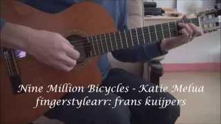 Nine Million Bicycles - Katie Melua - fingerstyle frans kuijpers