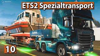 ETS2 SPEZIALTRANSPORT 🚚 BOOT Transport zum Hafen ► #10 Euro Truck Simulator 2 DLCs deutsch