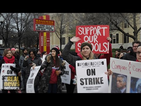 Chicago Teachers Aim to Shut Down City With One-Day Strike