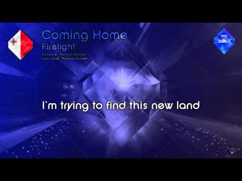 "Firelight - ""Coming Home"" (Malta) - [Karaoke version]"