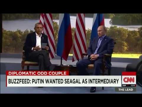 Buzzfeed Putin wanted Steven Seagal as intermediary - CNN Video