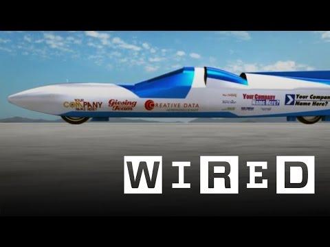 Jet Reaction is a 400mph two-wheeled rocket bike