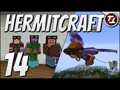 Hermitcraft V: #14 - Aerial Sheep Service!