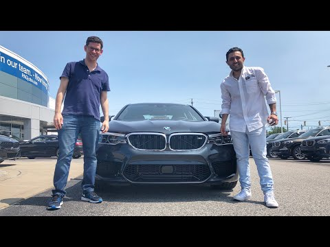 What a $115,000 BMW M5 Costs To Lease