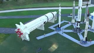 NASA Kennedy Space Center Section Walkthrough MINILAND LEGOLAND Florida