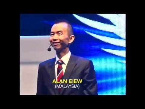 Motivation speech by Alan Eiew (游永济)