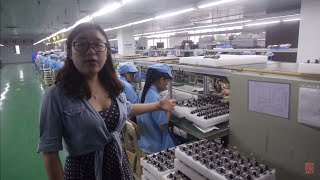 Shuoying 360 camera Factory Tour and Design House Office Tour