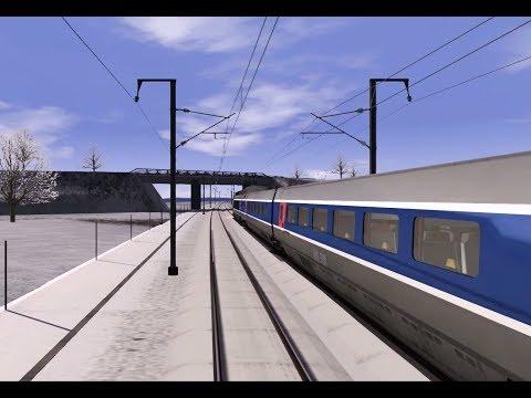 TS - Aux commandes du TGV Atlantique de Vendôme à Paris Montparnasse #3