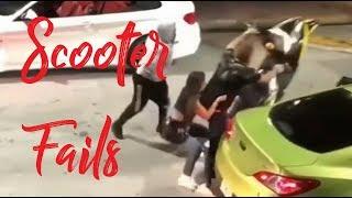 Epic car crash compilation #109 - Scooter fails - 2019