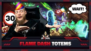 [PATH OF EXILE] – 3.8 – FLAME DASH TOTEMS – 30TH B-DAY STREAM HIGHLIGHT!