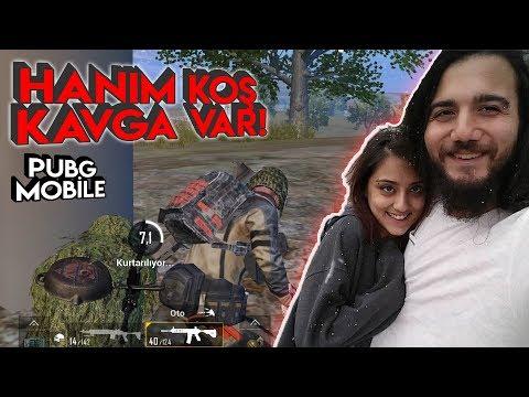 HAYATIMI KURTARDI! PUBG Mobile Kız Arkadaşımla Oynamak Gameplay Türkçe
