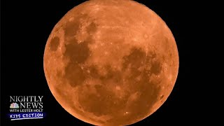 Supermoon: How Did The Pink Moon Get Its Name? | Nightly News: Kids Edition