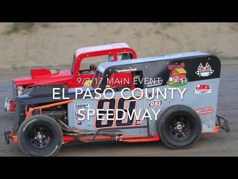 9/9/17 El Paso County Speedway Dwarfcar main