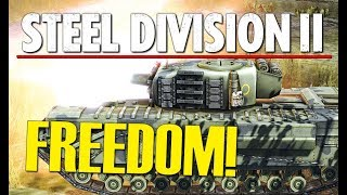 FREEDOM! 🏴󠁧󠁢󠁳󠁣󠁴󠁿 Steel Division 2 Conquest Gameplay (Beshankovichy, 2v2)