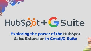 Connect HubSpot Sales Extension to Gmail