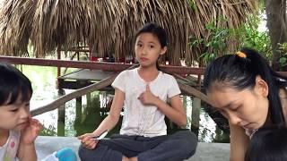 0333 Cô Kim làm BÁNH FLAN Đãi Sắp Nhỏ - Making a Flan Egg Cake in Vietnam