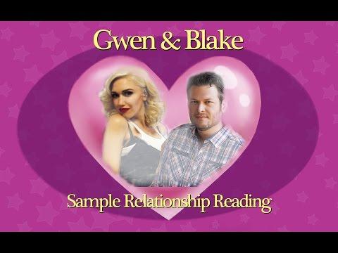 Sample Relationship Reading - Gwen Stefani & Blake Shelton