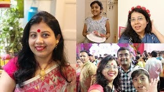 She Got These Gifts During Durga Puja Wow ! Maitreyee Passion - Indian Vlogger | Mumbai 2018 - Thane