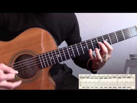 Minor swing, Biréli Lagrène solo - Tutorial Lesson (w/tab and backing track)