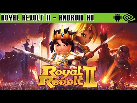 Royal Revolt 2 - Gameplay Nvidia Shield Tablet Android 1080p (Android Games HD)