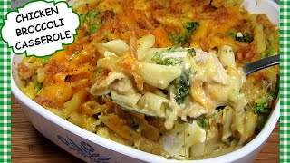 Canned Chicken and Broccoli Pasta Casserole ~ UgLy ChIcKeN ReCiPe