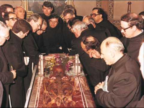 The incorrupt tongue of St Antony-La lingua incorrotta di S.Antonio