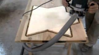 Corte con fresadora y disco copiador 008.AVI
