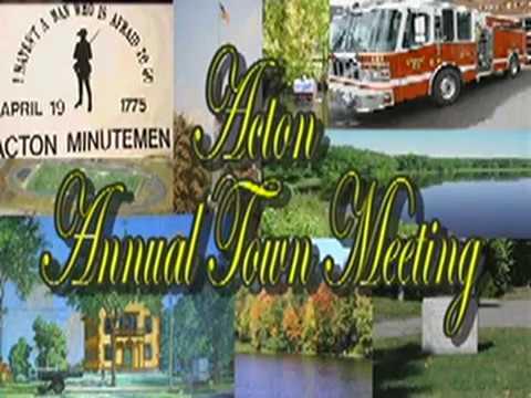Town Meeting 4/6/09