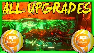 ALL CRATE POWER HIDDEN ITEM/WEAPON UPGRADES! | BLACK OPS 3 ZOMBIES