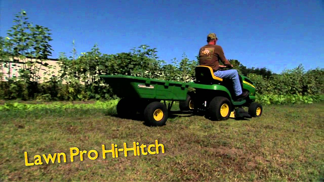 LAWN PRO HIGH HITCH by Great Day, Inc  Made in USA!   YouTube